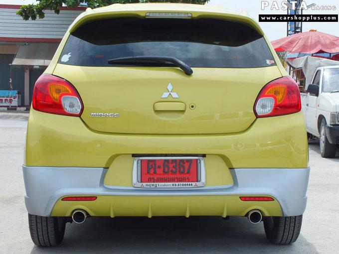 ชุดแต่ง Mirage มิราจ Access Evo สเกิร์ต รอบคัน Mix Yellow Devil ท่อคู่ เหลือง คุณแยม รูป 8